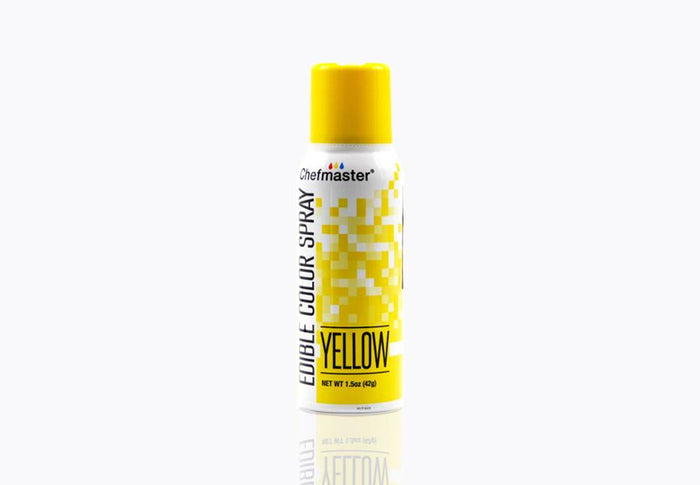 Edible Food Spray Yellow 42g