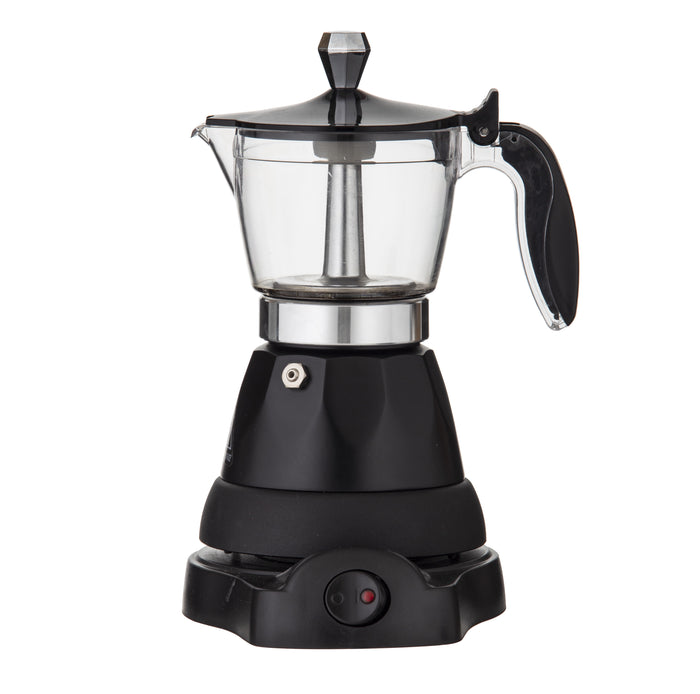 Electric Espresso Maker Black