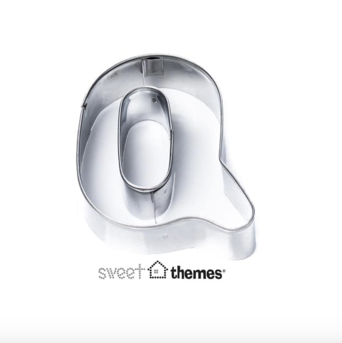 Letter Q SS Cookie Cutter