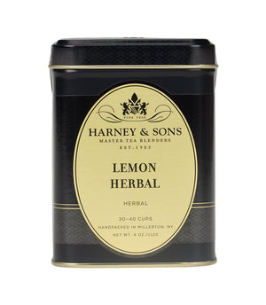Lemon Herbal Loose Leaf Tin 4oz/115g