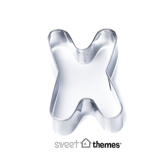Letter X SS Cookie Cutter