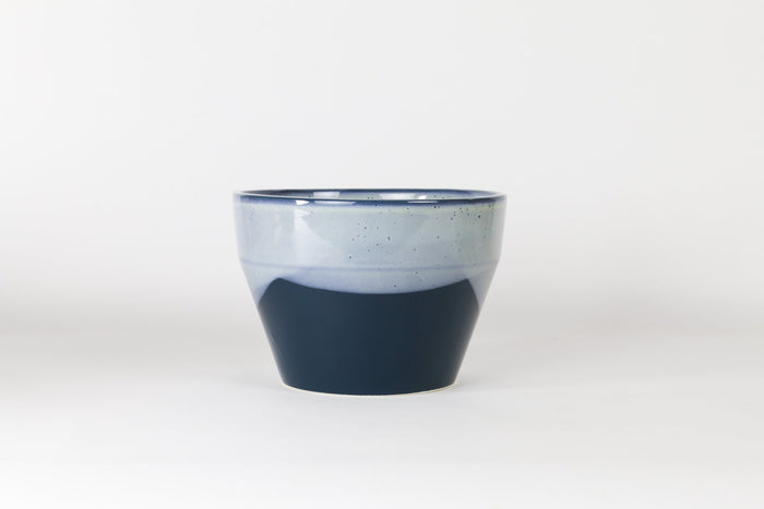 Planter Small With Hole -  Blue Mountain