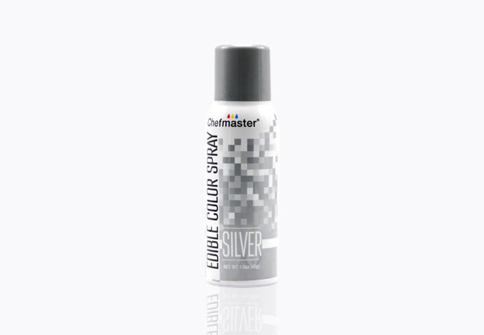 Edible Food Spray Silver 42g