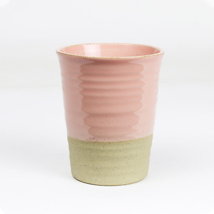 Large Carousel Cup - Winter Pastels  - Peach