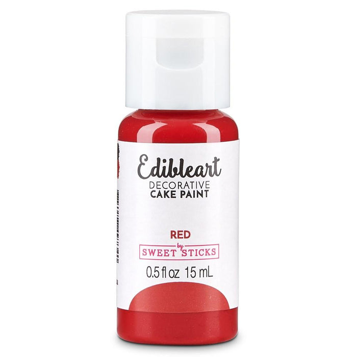 Red Edible Art Paint 15ml