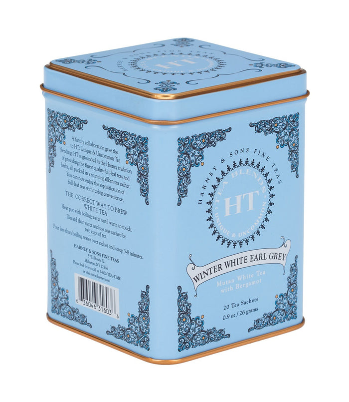 Winter White Earl Grey 20ct Tin