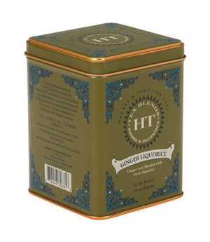 Ginger Liquorice 20ct Tin