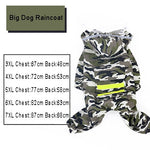 Dog Raincoat Jumpsuit,  Waterproof Jacket for Medium & Big DOGS - brilliantshop.site