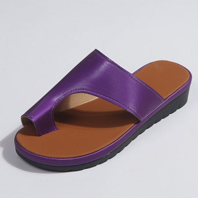 ORTHOPEDIC TOE  CORRECTOR  SANDALS - brilliantshop.site