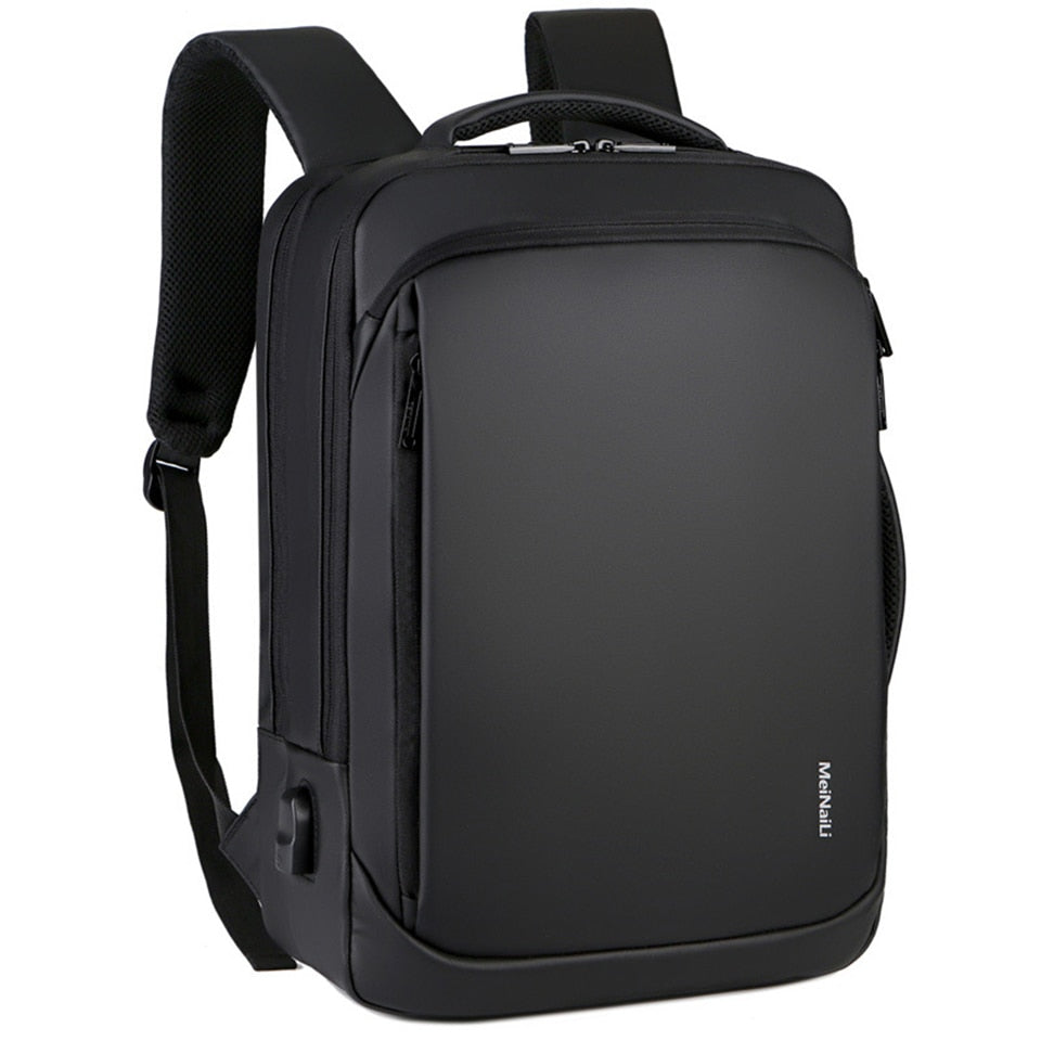 Laptop Backpack,  Business  Travel Backpack,  Waterproof Backpack, USB charging Bag - brilliantshop.site
