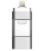3 in 1 Portable Phone USB Flash Disk with 8 Pin / Micro USB Plug Pen Drive - brilliantshop.site