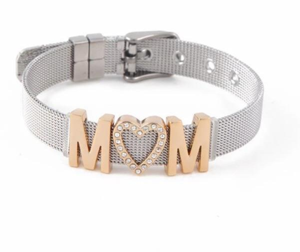 MOM Stainless Steel  Bracelets (MOM  Adjustable Bracelet ) - brilliantshop.site