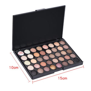 40 Colors Eyes Shadow Makeup Palette Earth Color Eye Shadow Palette - brilliantshop.site