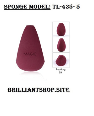 Makeup Foundation Sponge, Makeup Cosmetic Puff Powder Smooth Beauty Cosmetic Make up sponge Puff - brilliantshop.site