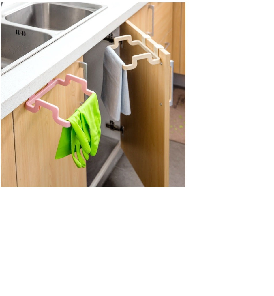 New Eco-friendly Kitchen Door Back Hanging Style Cabinet Stand Trash Garbage Bags Support Holder - brilliantshop.site