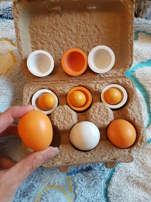 Eggs with yolk Baby Cooking
