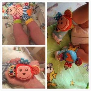 Socks and Wristband Rattle