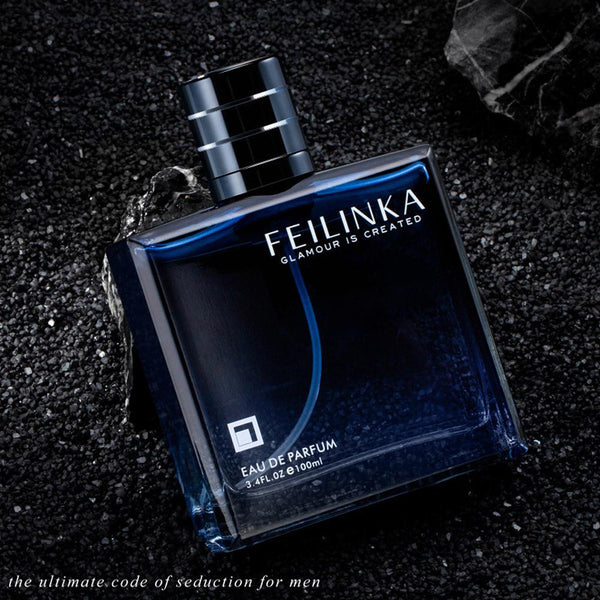 VIBRANT GLAMOUR 100ml Men Perfume Classic Cologne Wood Long-lasting Gentleman Male Fragrance Spray Parfum