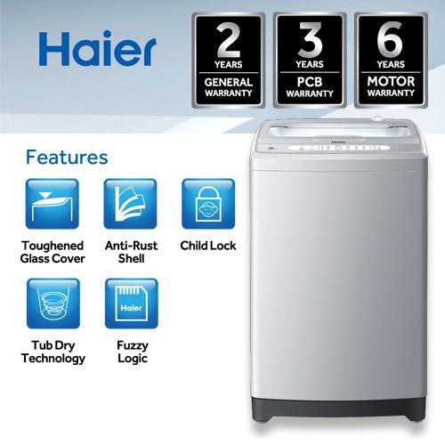 HAIER WASHING MACHINE (SEMI)