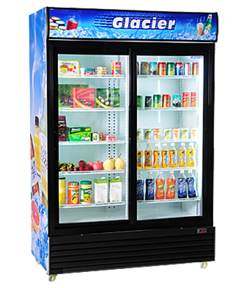 GLACIER FREEZER (SHOWCASE)