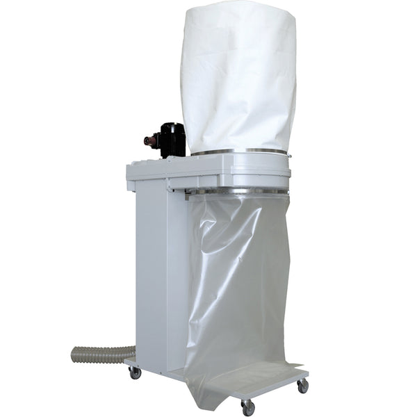 Dust Reduction Unit, 0.75Kw/3Ph/400V With 175 Litre Waste Bag Capacity With 5M Hose & Fittings