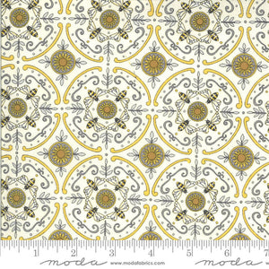 Reflections - Bee Grateful - Moda Fabrics - Parchment