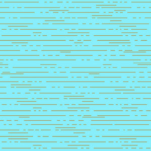 Remnant - Dashed Lines - Libs Elliot Greatest Hits Fabric Range - Makower - Pale Blue (135cm)