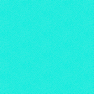 Freckle Dot Fabric Range - Andover - Pool Turquoise