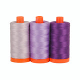 Aurifil 50's Weight - Amalfi Purple -  Colour Builder Thread Collection