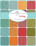 Numbers - Animal Crackers Fabric Range - By Sweetwater for Moda Fabrics - Black