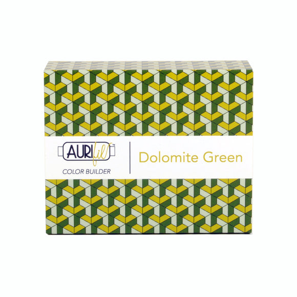 Aurifil 50's Weight - Dolomite Green - Colour Builder Thread Collection