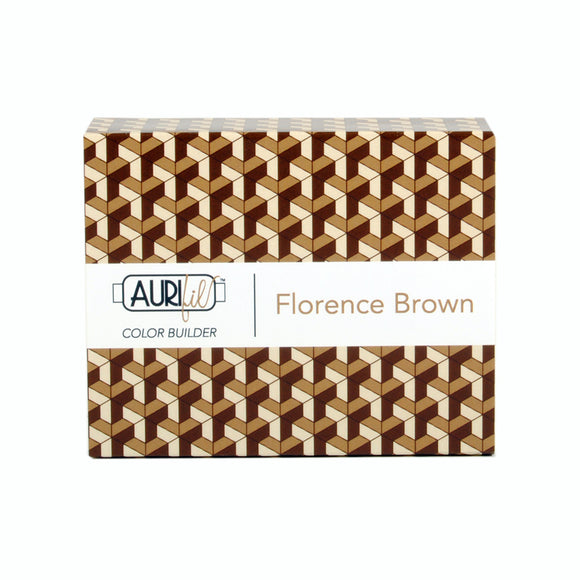 Aurifil 50's Weight - Florance Brown -  Colour Builder Thread Collection