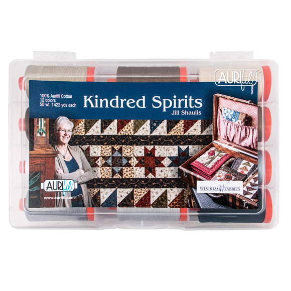 Aurifil 50's Weight - Kindred Spirits by Jill Shaulis Cotton Thread Collection