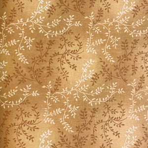 Tonal Vineyard Extra Wide (108 inch) Fabric Range - Kingfisher Fabrics -  Mustard