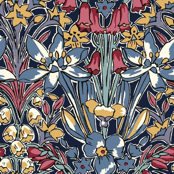 Adlington Hall - Flower Show Winter Fabric Range - Liberty Fabrics