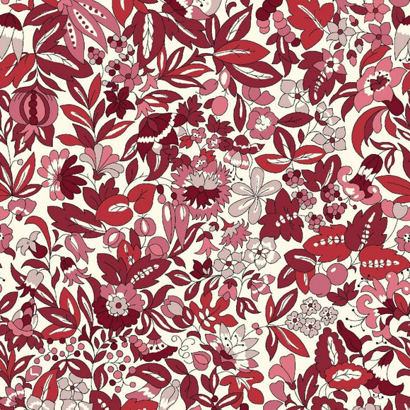 Hyde Floral - Flower Show Winter Fabric Range - Liberty Fabrics