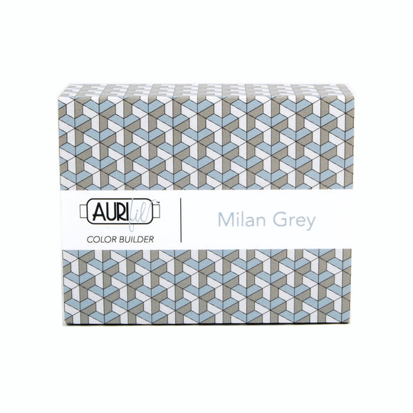 Aurifil 50's Weight - Milan Grey -  Colour Builder Thread Collection