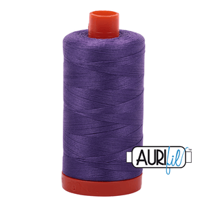 Aurifil Cotton Thread - 50's Weight - 1300 metres - Dusty Lavender (1243)