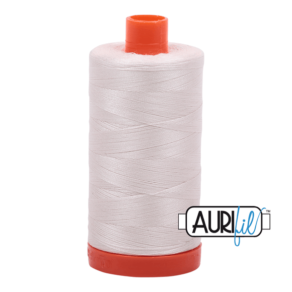 Aurifil Cotton Thread - 50's Weight - 1300 metres - Muslin (2311)