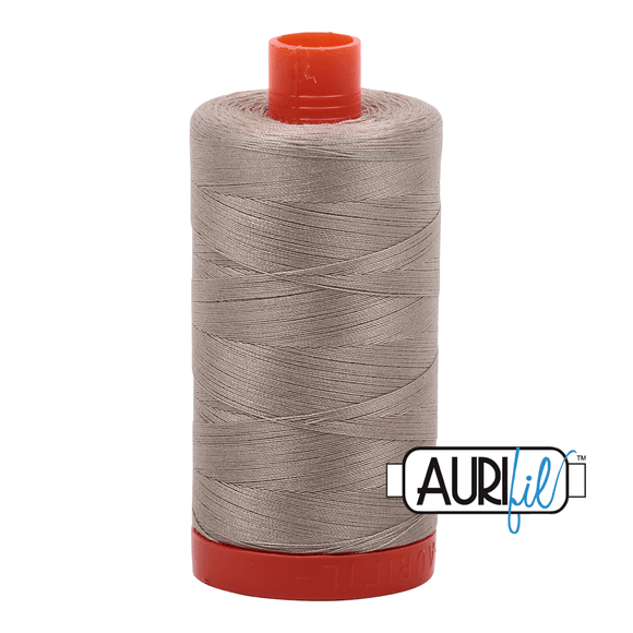 Aurifil Cotton Thread - 50's Weight - 1300 metres - Stone (2324)