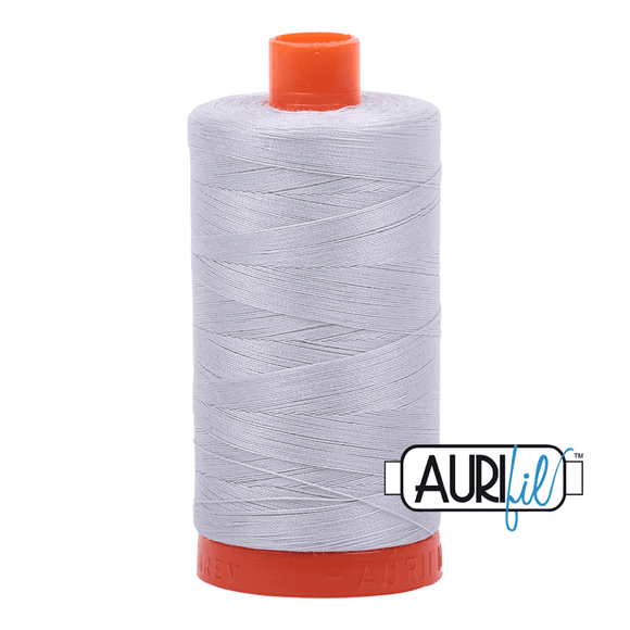 Aurifil Cotton Thread - 50's Weight - 1300 metres - Dove (2600)
