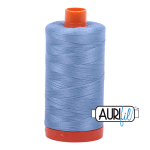 Aurifil Cotton Thread - 50's Weight - 1300 metres - Light Delft Blue (2720)