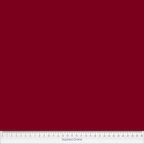 Spectrum Plains range of fabric by Makower - Christmas Red