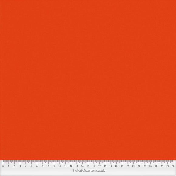 Spectrum Plains Fabric Range - Makower - Vienna Orange