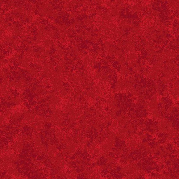 Cherry Red - Spraytime Fabric Range - Makower