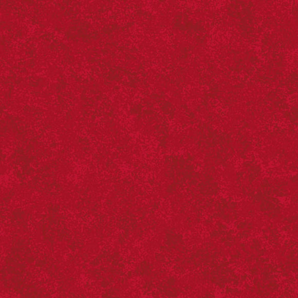 Christmas Red - Spraytime Fabric Range - Makower