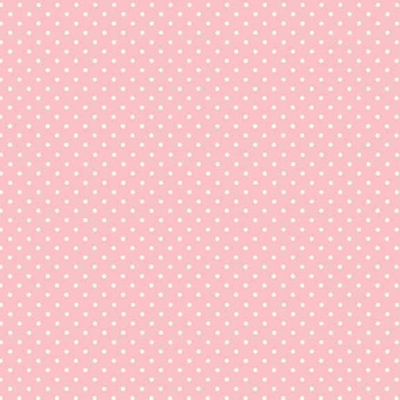 Baby Pink - Spot On Fabric Range - Makower