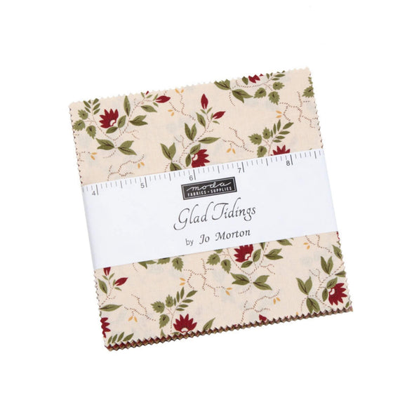 Glad Tidings Fabric Range - Moda Fabrics - Charm Pack