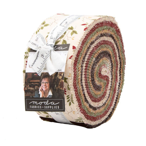 Glad Tidings Fabric Range - Moda Fabrics - Jelly Roll