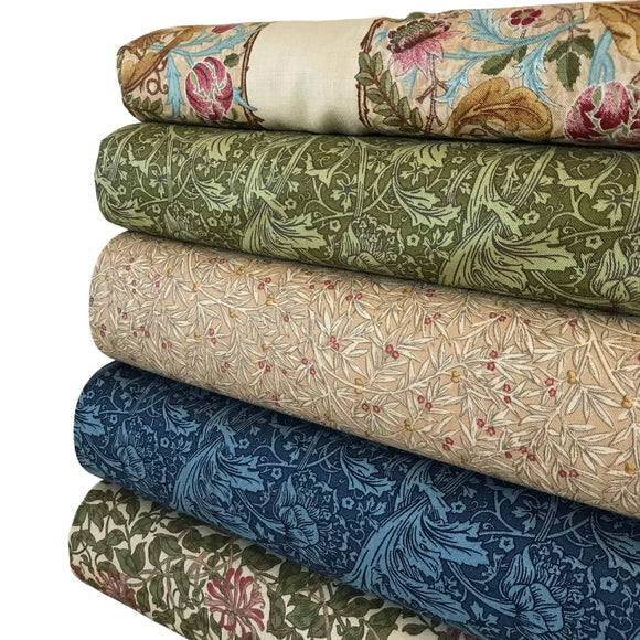 Moda May Morris Studio  - Green - 5 Fat Quarter Bundle